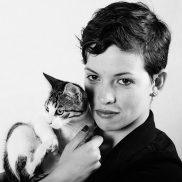 Paula y gato